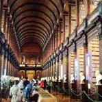 Dublin Trinity College Eski Kütüphane Kokusu