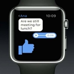 Facebook Mesenger Apple Watch'da