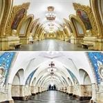 Fotoğrafçı David Burdeny ve Rus Metro İstasyonları