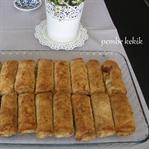 Galeta unlu çıtır tavuklu börek