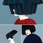 Grafik Etkili Moda Çekimleri