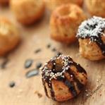 Hindistan Cevizi ve Muzlu Mini Muffinler