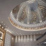 Aachen Yunus Emre Camii İç Dekorasyon Projesi