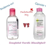 Bioderma vs Garnier