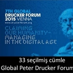 Global Peter Drucker Forumu 2015 – Digital Çağı Yö