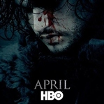 Jon Snow, Resmi Game of Thrones Afişinde