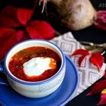 Kırmızı Pancar Yaprağı Çorbası