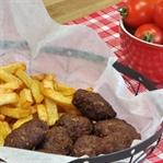 Kuru Köfte ve Patates Kızartması Tarifi