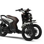 Yamaha 03Gen Konsept Scooterleri tanıttı.