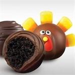 Yılbaşı İçin Çerezli Çikolatalı Toplar