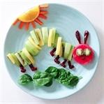Aç Tırtıl Meyve Sebze Tabağı