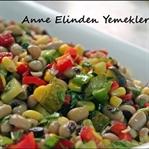 Anne Elinden Kuru Börülce Salatası