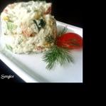 Mayonezli Pirinç Salatası