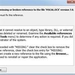 MSCAL.OCX Hatasının Çözümü