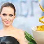 Angelina Jolie'ye 3 Haftada 11 Kilo Verdiren Çay !