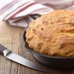 Biberli Kabaklı Tava Mısır Ekmeği