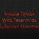 Firefox Web Tasarım Eklentileri