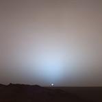 NASA Mars'ta Günbatımı Videosu