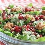 Cevizli Narlı Semizotu Salatası