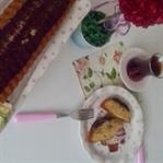 Çikolata ve Hindistan Cevizli Kek