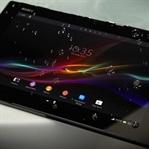 Dünyanın En İnce Tableti Sony'den Xperia Z4 Tablet
