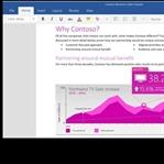 Microsoft, Mac İçin Office 2016'nın Görüntüleri...