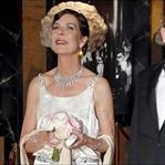 Monaco Gül Balosunda Prenses Caroline'nin  Şıklığı
