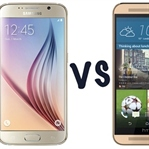 SAMSUNG GALAXY S6 VE HTC ONE M9 KARŞILAŞTIRMASI