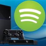Spotify PS4 indirilebilir durumda