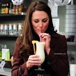 İŞTE ! Prenses Kate Middleton'ın Güzellik İçeceği