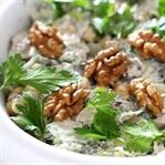Tavuklu Atom (Göbek) Salata