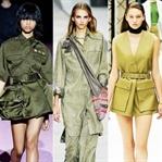 Yeni Üniforma: Askeri Trend