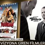 3 Nisan 2015 Cuma Vizyona Giren Filmler