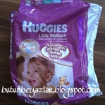 #AnneOnerisi : Huggies külot şeklinde bebek bezi