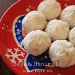 Cevizli kartopu kurabiye