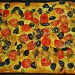 Focaccia Ekmeği (pizza ekmek)