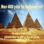 Mısır 'ın Geleceğini 4000 Yıl Önce Şiirde Anlattı
