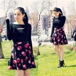 Ne Giydim: Pencereli Bluz & Çiçekli Etek