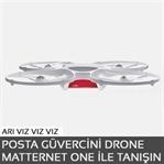 Posta güvercini Drone Matternet One ile tanışın