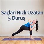 ŞOK OLACAKSINIZ !-Saçı Hızlı Uzatan 5 Yoga Duruşu