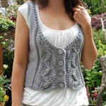Bayan Örgü Yelek Modelleri 2015