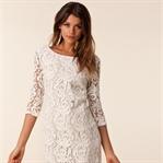 Beyaz Elbise Modelleri 2015