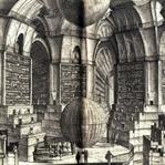 Borges'ten ilham alan çevrimiçi Babil Kütüphanesi