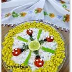 Çay Saatine Rus Salatası