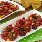 Kırmızı Pancarlı Bulgur Salatası Tarifi