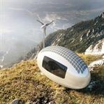 Rüzgar ve güneş enerjili kapsül ev, geleceğin evi