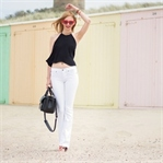 White Flared Jeans by True Religion