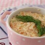 Yoğurtlu Kabak-Havuç Salatası