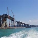 İzmit-Körfez Geçiş Köprüsü İnşaat Görüntüleri