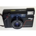 Analog bas çek fotograf makinesi Nikon L35AD2